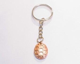 Turtle Shell Keychain 18K Rosegold - University of Maryland