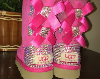 Kids and Women's Bling Bailey Bow Uggs