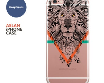 Lion iPhone Case, iPhone 6s Case, Lion iPhone 7 Case, Lion iPhone 6s Plus Case, Lion iPhone 6 Case, Lion iPhone 6+ Case (Ships From UK)