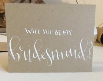 Will You Be My Bridesmaid Greeting Card 10/PK