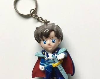 Sailor Moon Prince Endymion Figurine Keychain