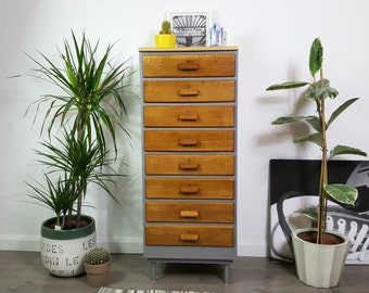 SOLD     Chest of Drawers - Vintage - All Drawers Lock