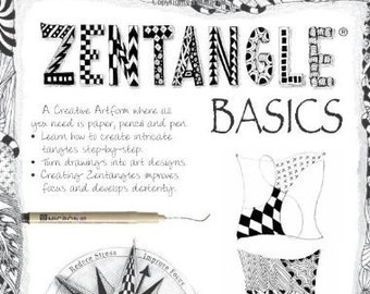 "Zentangle Basics #3450,"" book by Suzanne McNeill"