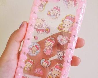 Pink Whip frame rilakkuma Iphone6/6s