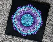 Mandala kunst schilderij