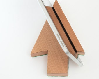 Ipad stand, iphone stand, tablet holder,   office desk accessories, gift for colleague, table accessories