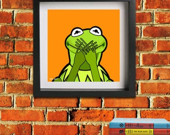Kermit the frog - Speak no evil