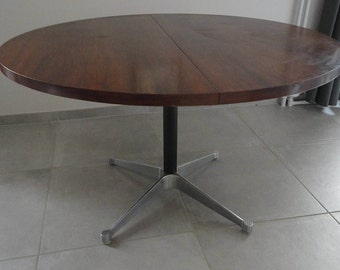 Table Charles & Ray Eames Palissandre