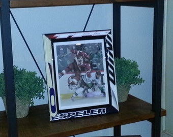 Hockey Stick Picture Frame 8x10