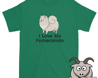 I Love My Pomeranian Shirt, I Love My Dog Shirt, Dog Love Shirt, Cute Dog Shirt, Puppy Shirt, Pomeranian T Shirt, Dog T Shirt, Pet Shirt
