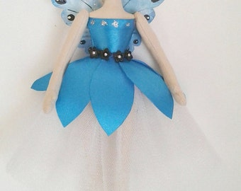 Fairy doll fairy art doll angel doll art doll cloth doll artdoll art cloth doll