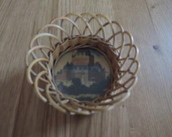Small wicker basket, Château Frontenac Quebec, 1943