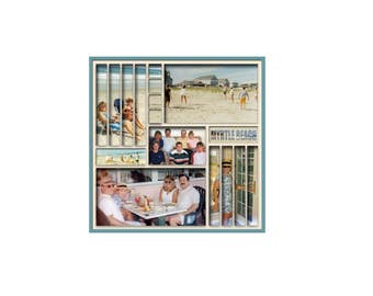 Two 12 x 12 Digital Scrapbook Templates (116 and 117)