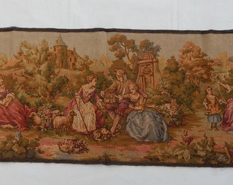 Vintage French Beautiful  Tapestry (239)