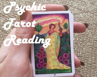 Same Day 1 Card Psychic Tarot Reading - Experienced, Empathic Reader GREAT VALUE!