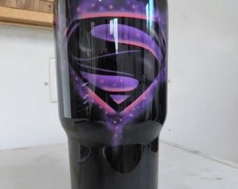 Superman Yeti, Superman gift, superman cup, superman mug, personalized superman gift, superman art