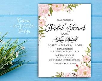 Bridal shower invitation rustic, Bridal shower invitation, bridal shower invites, bridal shower invitation template - US_BI0301a