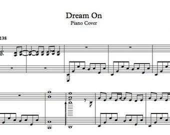 DOWNLOADABLE - Dream On - Piano Cover by Rhapsodyenmauve, a.k.a. Elena Marinaki