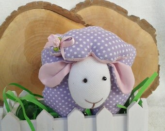 Sheep toy, handmade toy, Tilda sheep, eco doll, stuffed toys, sewn soft sheep, toddler toy, easter gift, baby nursery decor, toddler toy