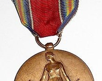 WW2 - World War Two - U.S. Victory Medal 1941 1945
