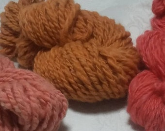 Bulky Handspun Wool Yarn (Lot 25)
