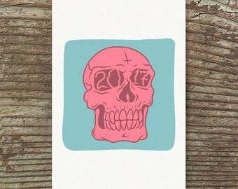 2017 Skull Print