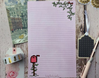 10 Sheets - Lovely Mailbox Stationery Paper