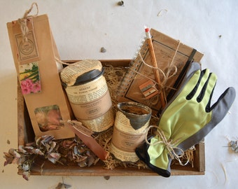 Green Fingers Spring Bulbs Collection // Gardener Gift // Gift Set // Gift Boxes // Gifts For Her // Gifts For Him //