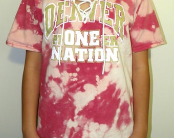 College Lace Up Tee (University of Denver)