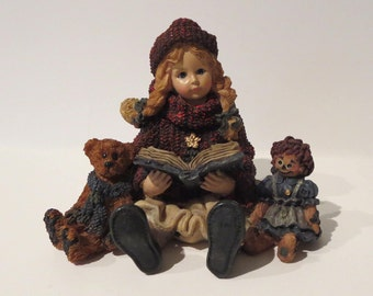 """Doll Figurine """"Yesterday's Child"""" by Boyd's Collection Ltd."""