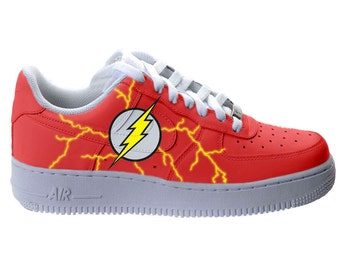 THE FLASH Nike Air Force Ones Men
