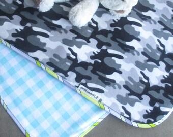 Camo Swaddle Blanket Etsy