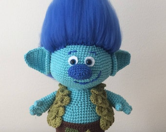 Branch - Trolls Amigurumi Crochet Pattern