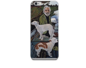 Goodfellas iPhone Case - Old Man With Dogs Painting - iPhone 5/5s/SE/6/6s/6Plus/6sPlus/7/7Plus
