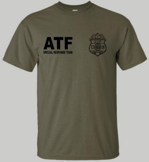 Atf Special Response Team Srt Shirt Atf Shirt Military