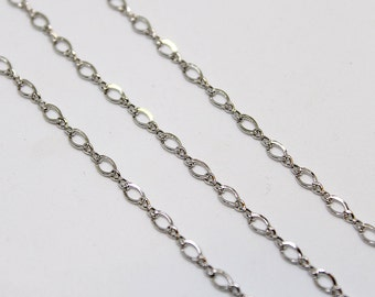 Sterling Silver 925 Rhodium Chain CSS-03