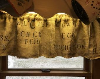 Farmhouse curtain   Etsy