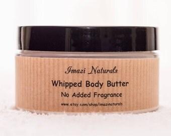 Body Butter, Organic Body Butter, Whipped Body Butter, Unscented Body Butter, Natural Body Butter, Shea Butter, Cream Body Butter, 100ml