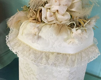 lace hatbox