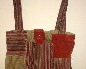 Recycled Corduroy bag
