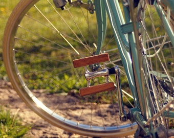 Holzpedale / wooden pedal / bikepedal / Pedal / Holzpedal