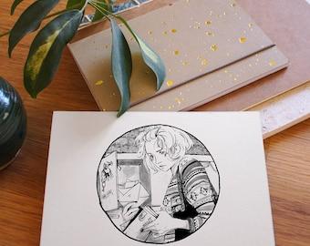 Gedankenrauschen 04: Pen Pals . DIN A6 Print