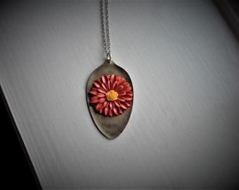 Vintage Spoon Necklace #1217