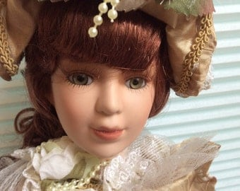 Victorian Porcelain doll head