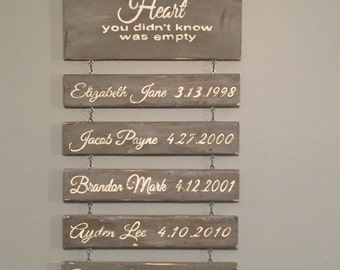 Wood Sign - Grandparents Sign, Farmhouse grandparents wood sign, Modern Farmhouse, Rustic Grandparents Personalized wood Sign, rusrtic decor