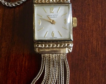 Beautiful Inventic, 17 Jewel, Pendant Watch