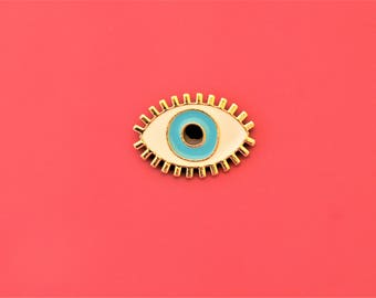 Enamel Pin Evil Eye