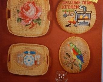 1983 Wang's International BKW008...DESIGNER'S Basket Stitching CROSS STITCH graph patterns