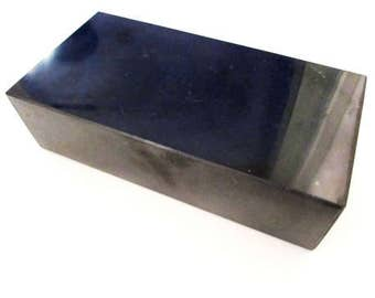 Shungite brick polished 20*10*5 cm (7,87*3,94*1,97 inch)