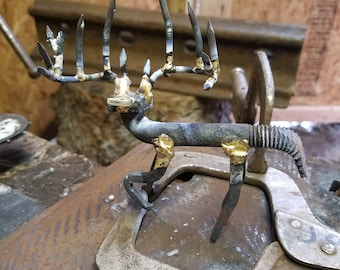 "Deer Buck. Orders will be ""close to "" but not (exactally) what you see.  Draw your idea. I'll weld it."